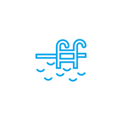 Schwimmbad Icon